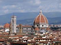 Florencja Santa Maria Del Fiore Zdjęcie Stock