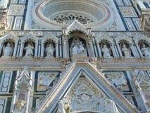 Florencja Tuscany Włochy, Florencja Duomo Katedralny Cattedrale Santa Maria Del Fiore, katedra Świątobliwy Mary kwiaty zdjęcia royalty free