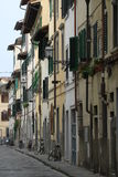 Florencja ulica Fotografia Stock