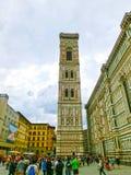 Florencja Włochy, Maj, - 01, 2014: Bazylika Santa Maria Del Fiore w Florencja, Włochy Zdjęcie Royalty Free
