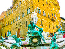Florencja Włochy, Maj, - 01, 2014: Palazzo Vecchio jest urzędem miasta Fotografia Royalty Free