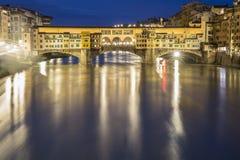 Florencja Włochy okno na morzu Fotografia Stock