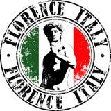 Florencja znaczek Zdjęcie Royalty Free