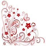 Florenelement für Design Vektor Abbildung