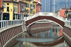 Florentia Village Tianjin China royaltyfri bild