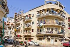 Florentin neighbourhood, Tel Aviv Fotografering för Bildbyråer