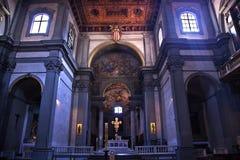 florentina Италия florence собора базилики badia Стоковые Изображения RF