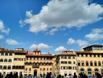 Florentine architecture, Oltrarno, Florence royalty free stock images