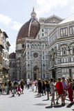 Florentine architecture and tourism Royalty Free Stock Images