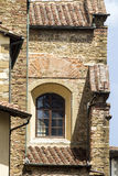 The Florentine Architectures. FLORENCE, ITALY - JULY 25, 2017: Architectures of the Old Town - Tuscany Stock Image