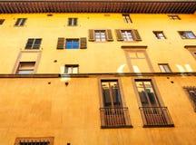 Florentine building facade Royalty Free Stock Image