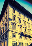 Florentine building facade Stock Photo