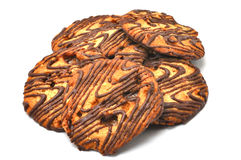 Florentine Cookies Isolated Stock Photos