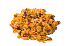Florentine crunchy cookie biscuit Royalty Free Stock Photo