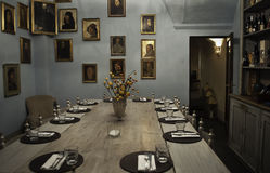 Florentine dining room Royalty Free Stock Photography