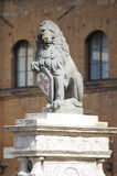 The Florentine lion Royalty Free Stock Image