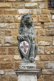 The Florentine lion Stock Photo