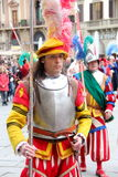 Florentine medieval parade Stock Photography