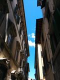 Florentine Narrow Streets Royalty Free Stock Photography