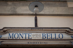 Florentine shop Monte Bello Stock Photography