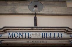 Florentine shop Monte Bello Stock Photography
