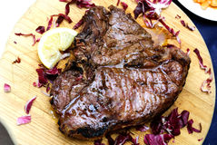 Florentine steak Royalty Free Stock Images