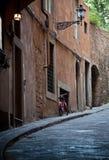 Florentine street Stock Photo