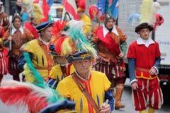 Florentinische mittelalterliche Parade stockbild