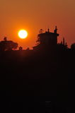 Florentinischer Sonnenuntergang Lizenzfreie Stockbilder