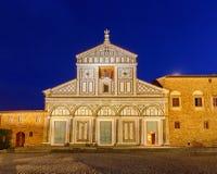 Florenz Al Monte San-Miniato Stockfoto