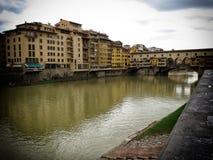 Florenz-alte Brücke Lizenzfreies Stockbild