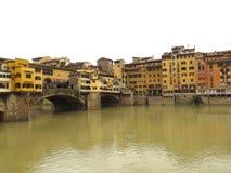 Florenz-alte Brücke Lizenzfreie Stockfotografie