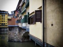 Florenz-alte Brücke Stockfotografie