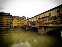Florenz-alte Brücke Lizenzfreie Stockfotos