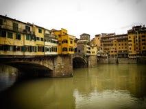 Florenz-alte Brücke Stockbilder