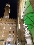 Florenz bis zum Nacht stockfoto