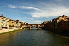 Florenz-Brücke, Florenz Stockbilder
