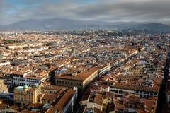 Florenz-Dächer lizenzfreies stockfoto