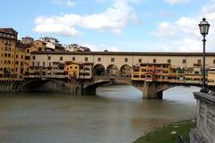 Florenz. Das Ponte Vecchio Stockbild
