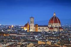 Florenz, Duomo Santa Maria Del Fiore Stockbilder