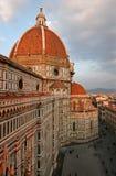 Florenz-Duomo und Quadrat Stockbilder