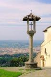 Florenz Fiesole widok Obrazy Stock