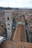 Florenz-Glockenturm Stockfotos
