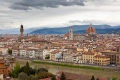 Florenz im Frühjahr Stockbild