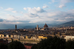 Florenz in Italien Stockfoto