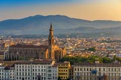 FLORENZ ITALIEN stockbild