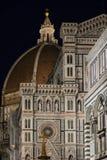 Florenz, Italien - 23. April 2018: Fassade von Cattedrale-Di Santa Maria del Fiore Stockfotografie