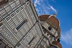 Florenz-Kathedrale (Duomo) stockbilder