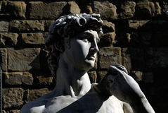 Florenz - Marktplatz della Signoria Stockfotos