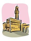 Florenz (Marktplatz della Signoria) Lizenzfreie Stockfotografie
